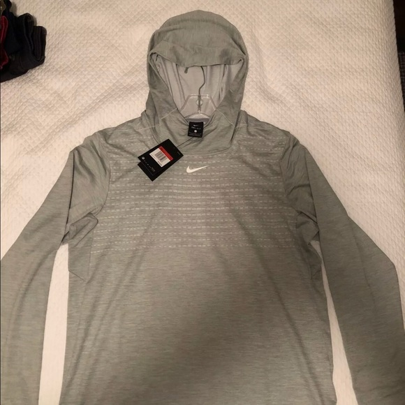 Nike Other - Nike Elite Football Hooded Pullover Large